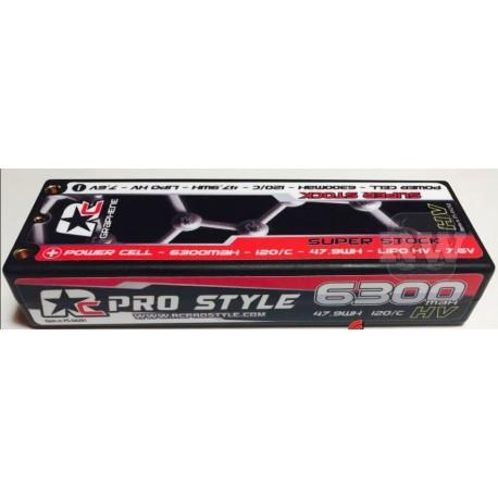 Bateria HV Grafeno RC Prostyle 6300