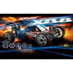 XRAY XB8 - 2016 SPECS - 1/8 LUXURY NITRO OFF-ROAD CAR