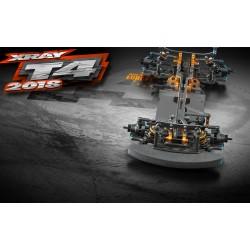 XRAY T4 - 2018 SPECS - 1/10 LUXURY ELECTRIC TC