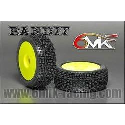 Neumático pegado 1/8 6Mik ULTRA Bandit -15/25 (2 uds)