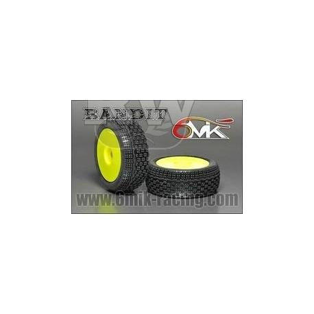 Neumático pegado 1/8 6Mik Bandit-15/25 (2 uds)