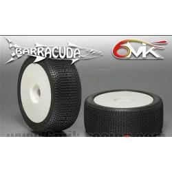 Neumático pegado 1/8 6Mik ULTRA BARRACUDA-15/25 (2 uds)