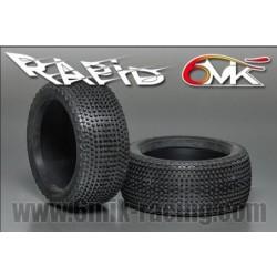 Neumático SOLO GOMA 1/8 6Mik Rapid-21/40 (2 uds)