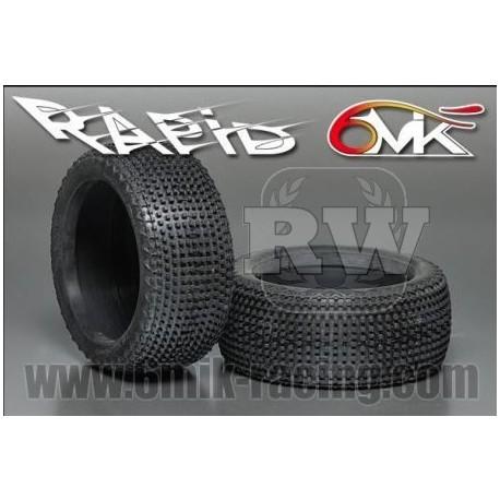 Neumático pegado 1/8 6Mik Bandit-0/18 (2 uds)
