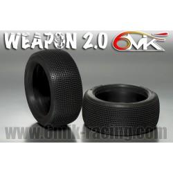 Neumático SOLO GOMA 1/8 6Mik ULTRA WEAPON-15/25 (2 uds)