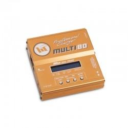 Cargador profesional Multi 80W con fuente LiPo,NiMh,NiCd,Pb