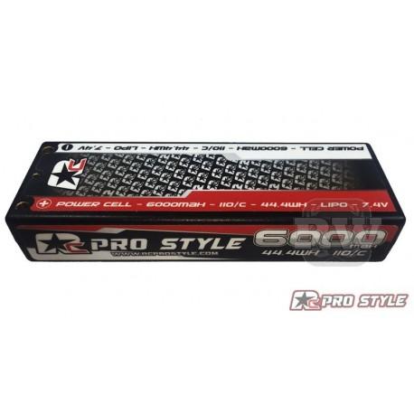 LiPo RC ProStyle 7,4V, 110C, 6000mAh