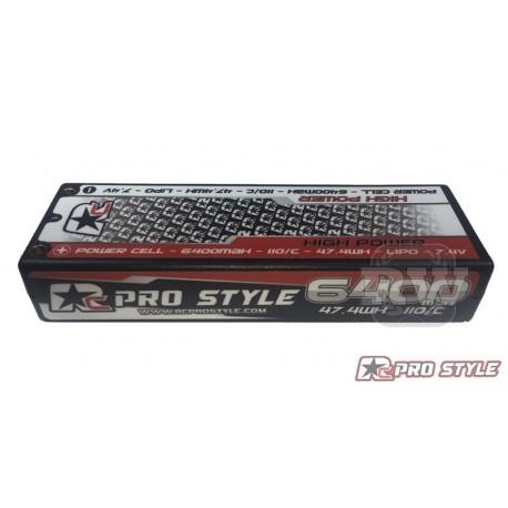 LiPo RC ProStyle 7,4V, 110C, 6400mAh