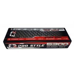 LiPo RC ProStyle 7,4V, 110C, 5300mAh Stock Spec.