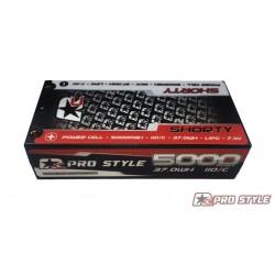 LiPo Shorty RC ProStyle 7,4V, 110C, 5000mAh Stock Spec