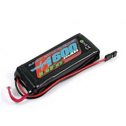 Bateria LiFE 6.6v Voltz 1600mah para receptor