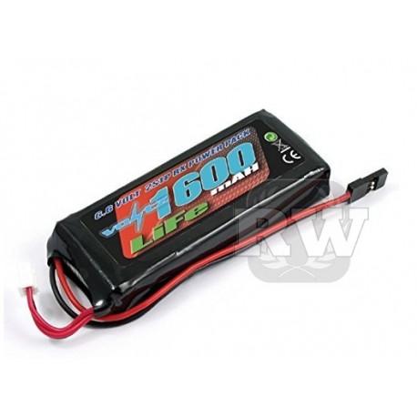 Bateria LiFE 6.6v Voltz para receptor