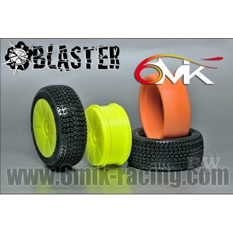 Neumático pegado 1/8 6Mik Blaster-15/25 (2 uds)
