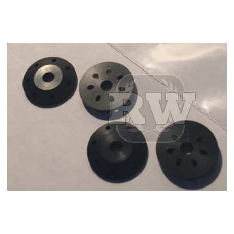 Pistones oblicuos amortiguador 7 agujeros AGAMA A215 / A215 SV